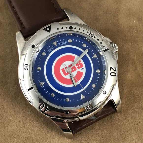 Game Time Other - Game Time with the Cubs MLB Baseball Watch NOS